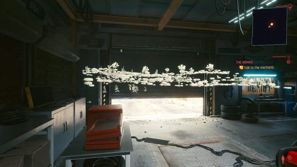 Cyberpunk 2077 Trees Bug