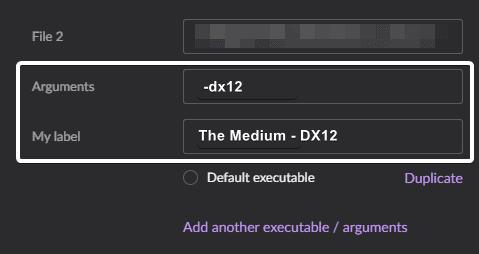 The Medium RTX Option Greyed