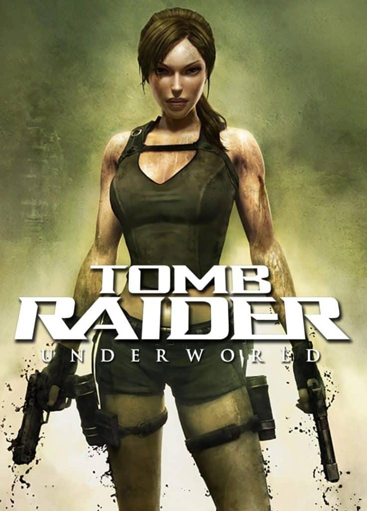 Tomb Raider Underworld box art