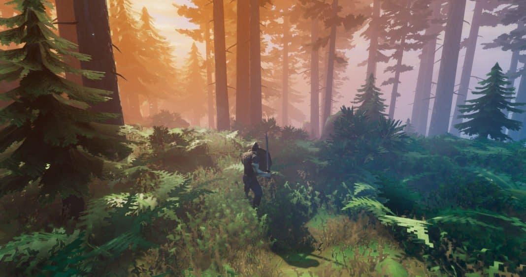 Valheim Screenshot on PC during Early Access