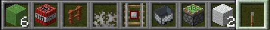 Minecraft duplication dlitch required items
