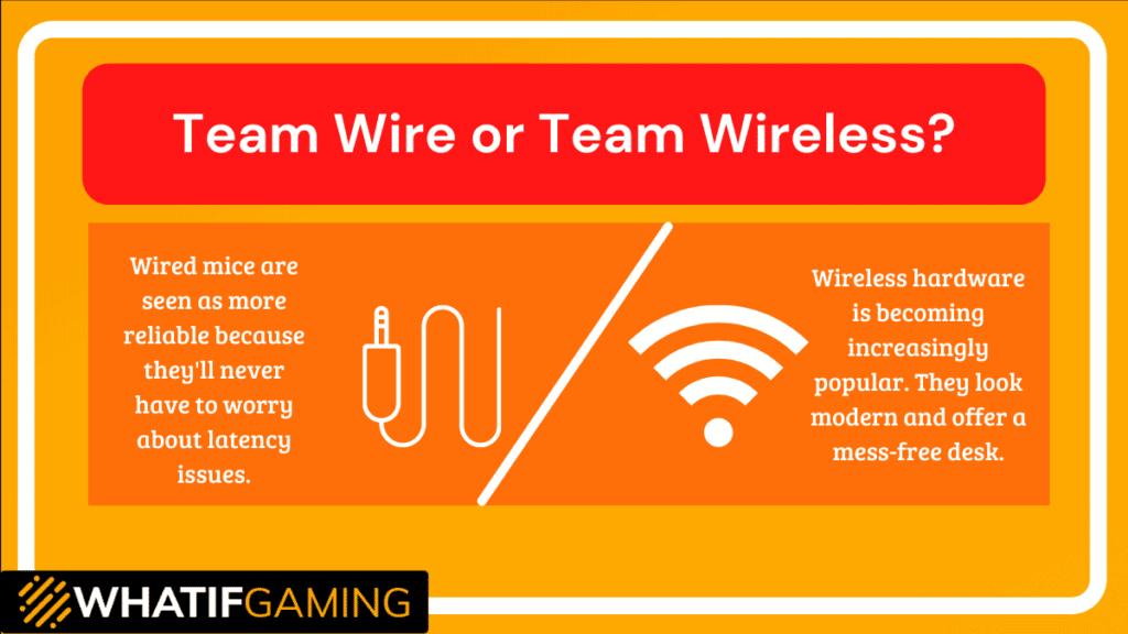 Team Wire or Team Wireless?