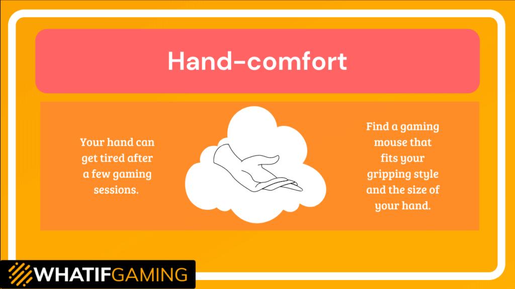 Hand-comfort