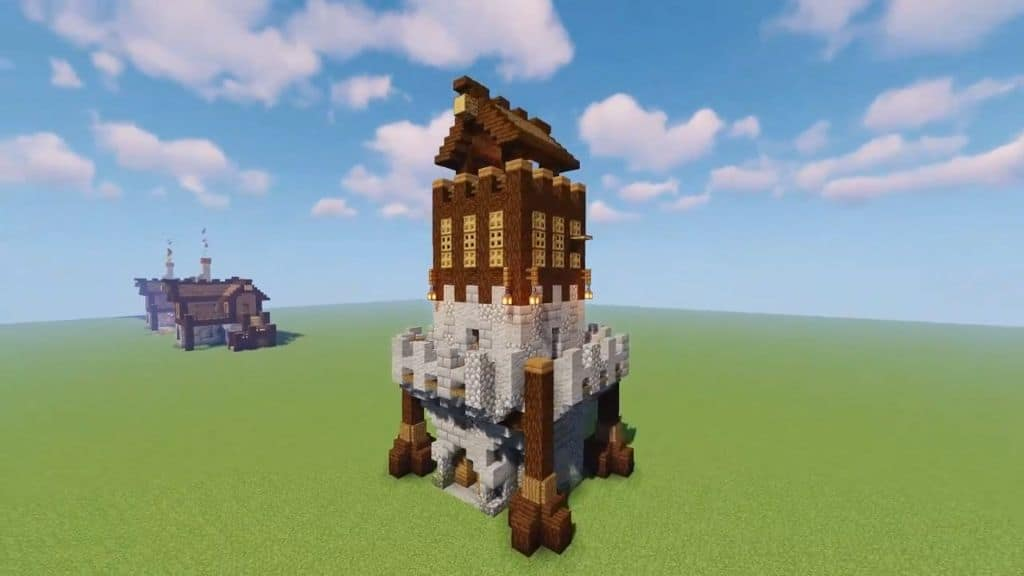 A Fortified Tower for Any Biome