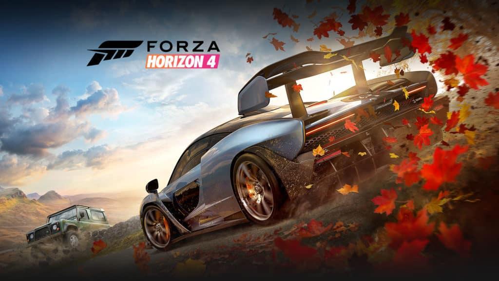 Forza Horizon 4 representing Forza Horizon 5