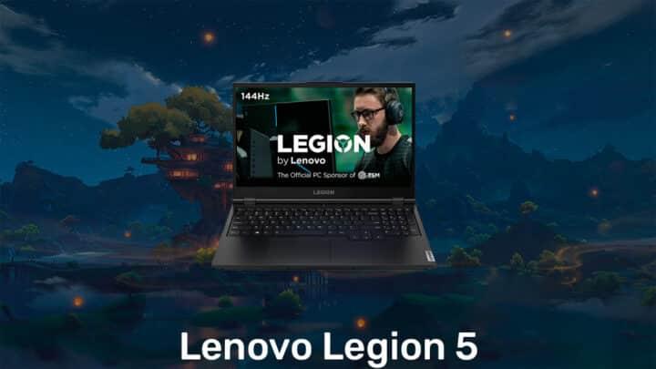Lenovo Legion 5 Genshin Impact