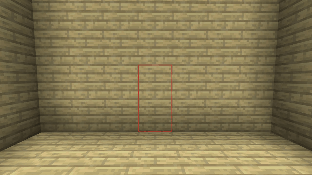 This 2x2 secret door is one of the many cool things to build in Minecraft!
