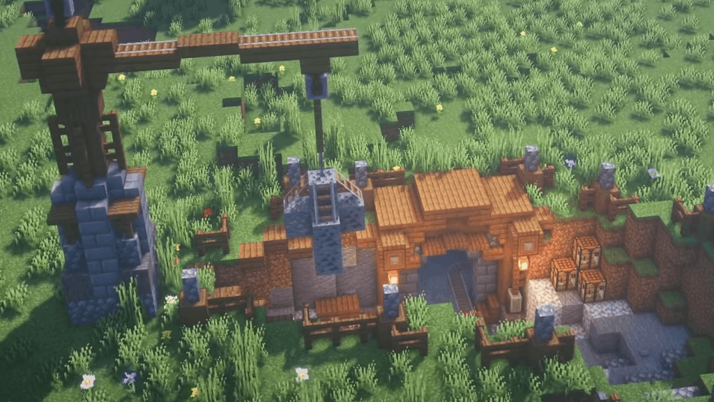 This Mine Base is a great idea for your next Minecraft projects.