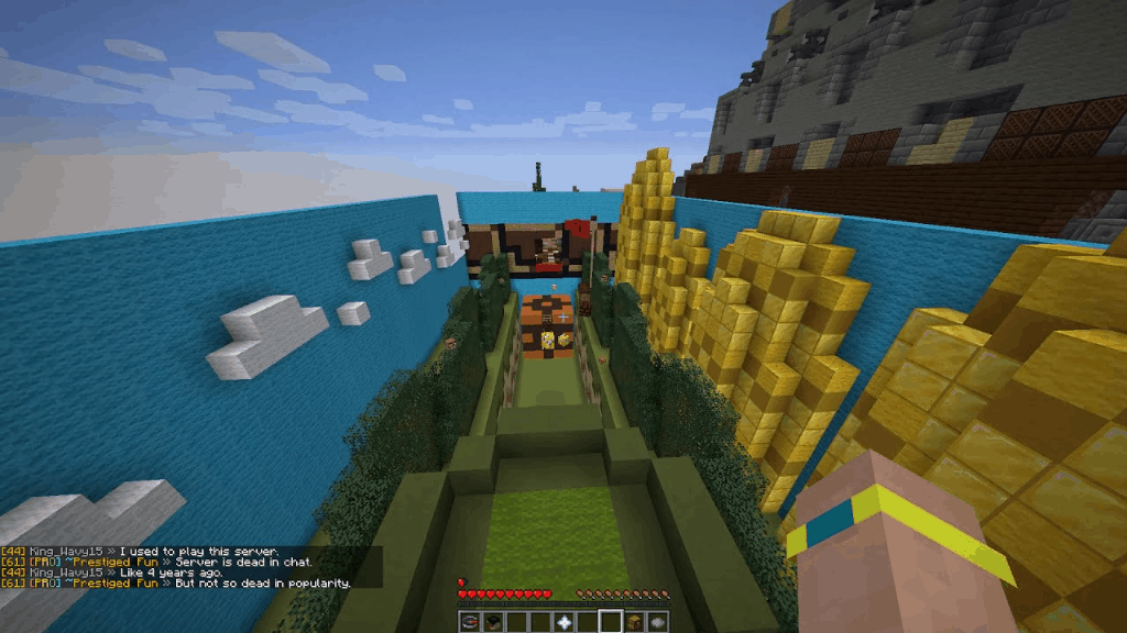 This speed run course is one of the many cool things to build in Minecraft!