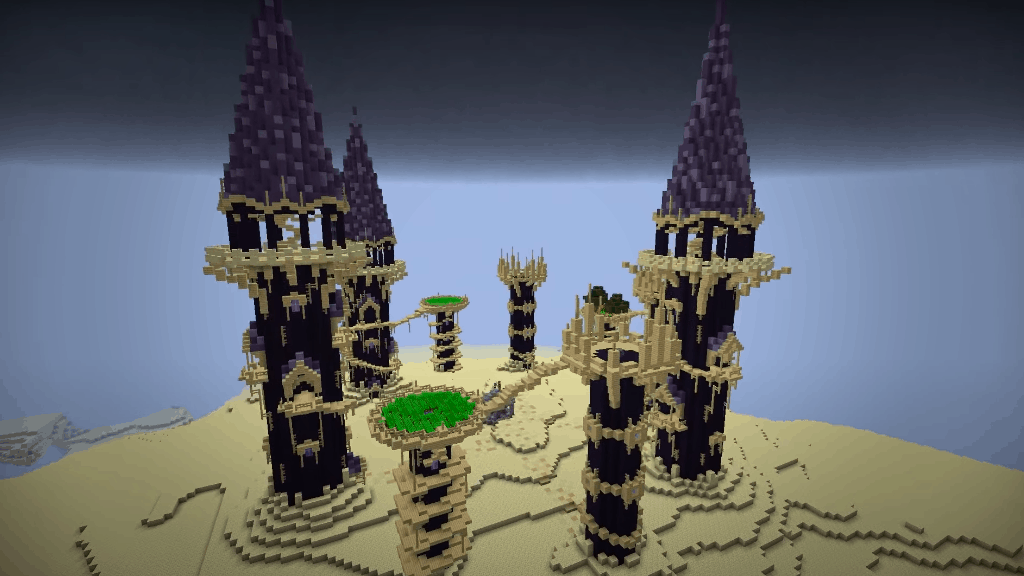 Obsidian City in the End