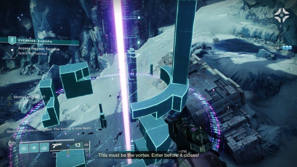Destiny 2 Override Europa. The vortex will open once the terminal is fully overloaded and all countermeasures are cleared.