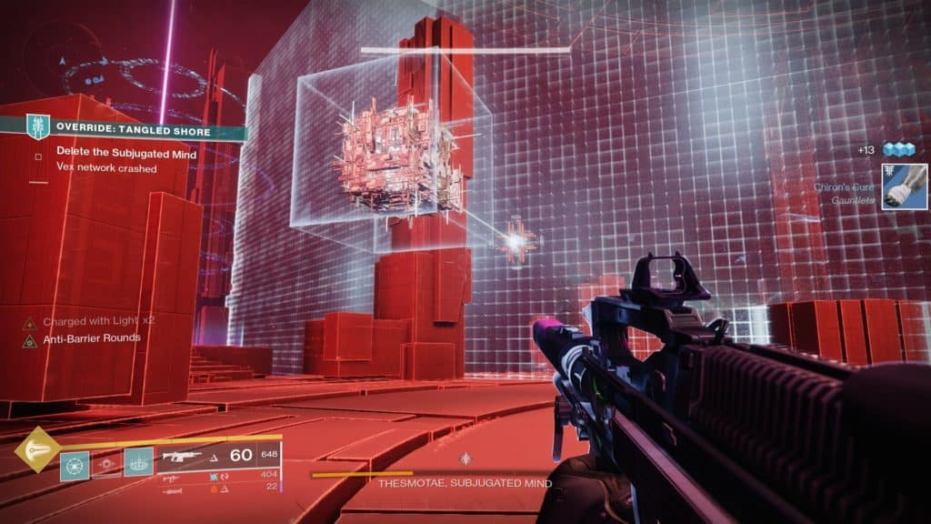 Disable Vex barriers in the new Destiny 2 seasonal activity