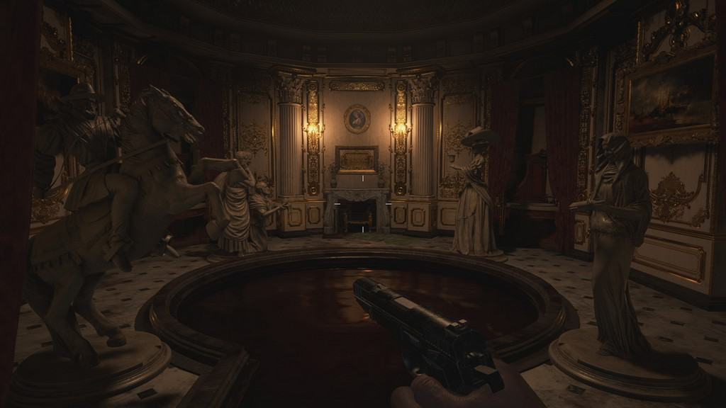 4 Statue Puzzle in Hall of Ablution Resident Evil 8 Village