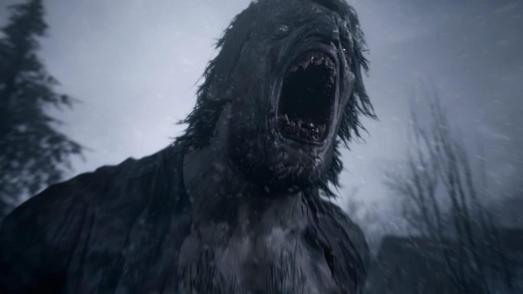 One of the new enemy types in Resident Evil 8 Village