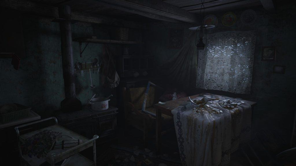 Indoor environments in Resident Evil 8 Village