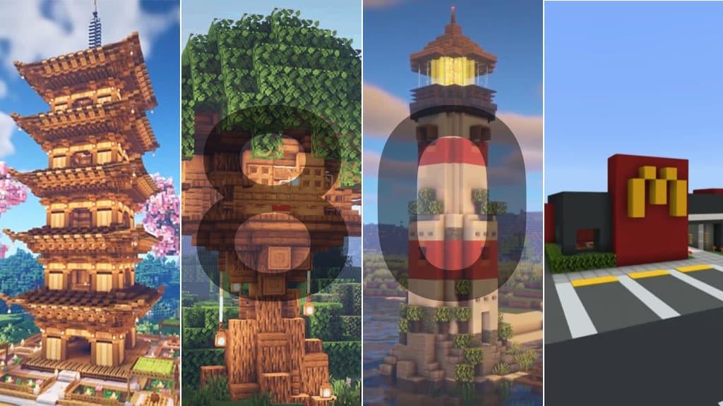 80 Minecraft Building Ideas