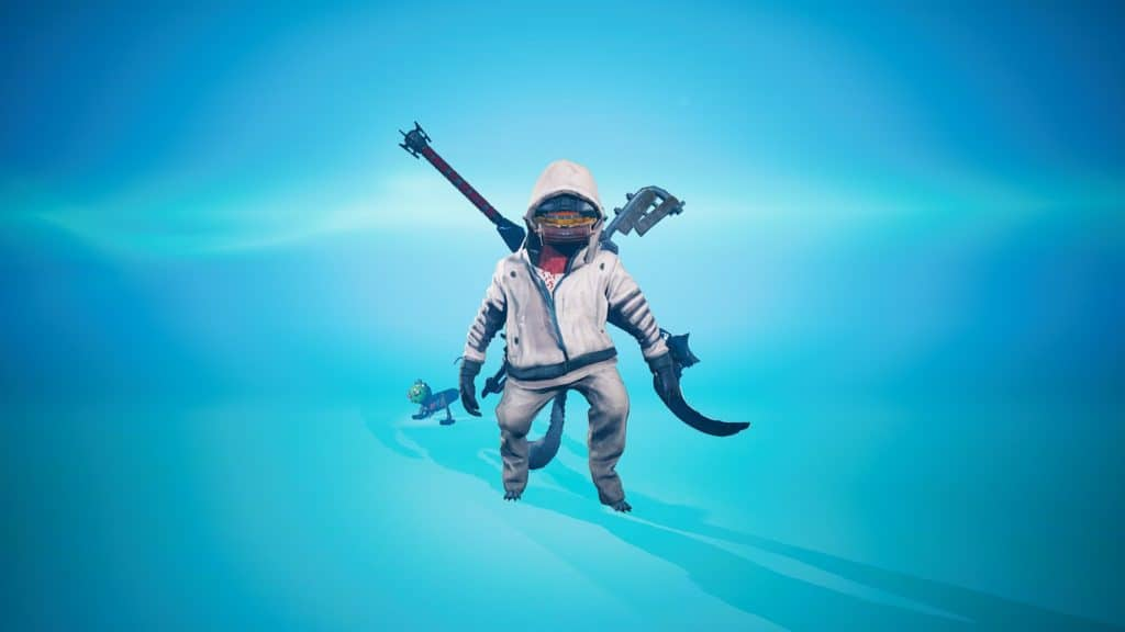 The Cold Suit Fully equipped in Biomutant