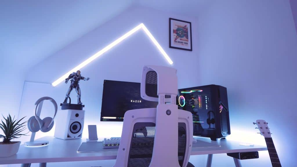 Razer Themed Gaming Area by Tech Tesseract