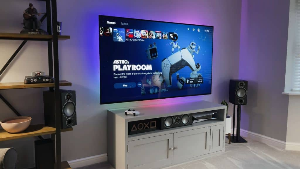 A Monster $4,000 Gaming TV Setup by SpawnPoiint