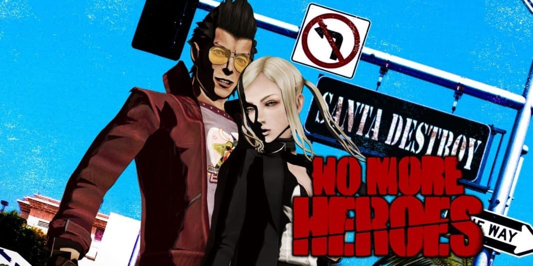 No More Heroes Promotional Artwork