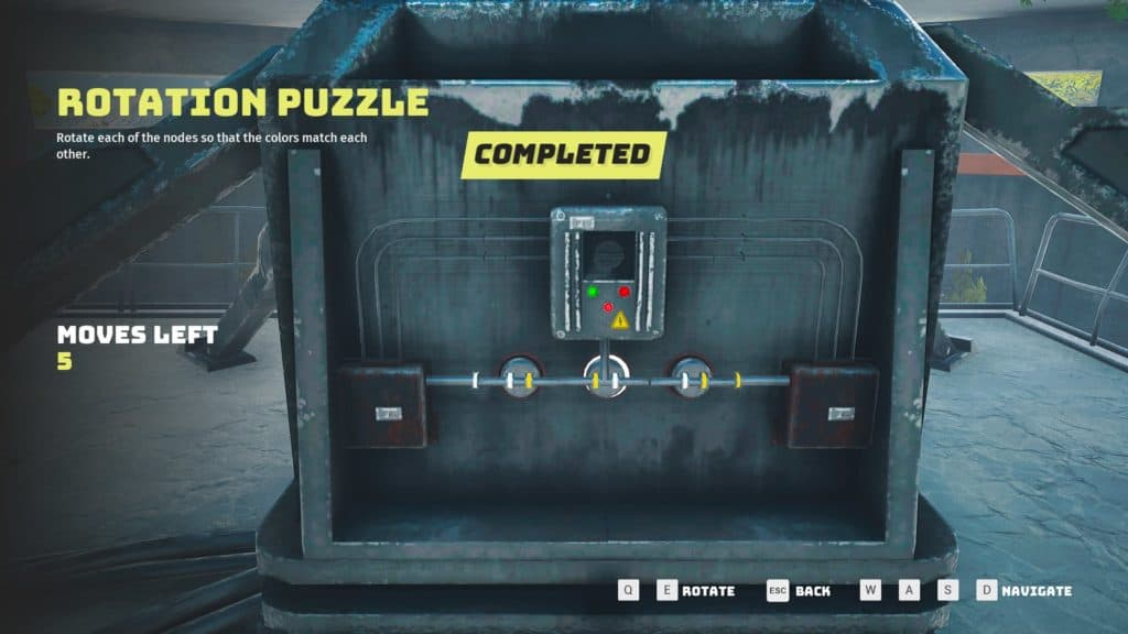 Solving the Rotation Puzzle in Pingdish 6K