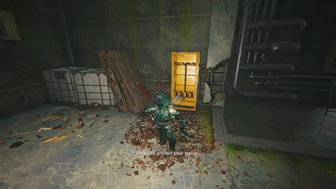 Where to find the Oxygen Suit in Biomutant