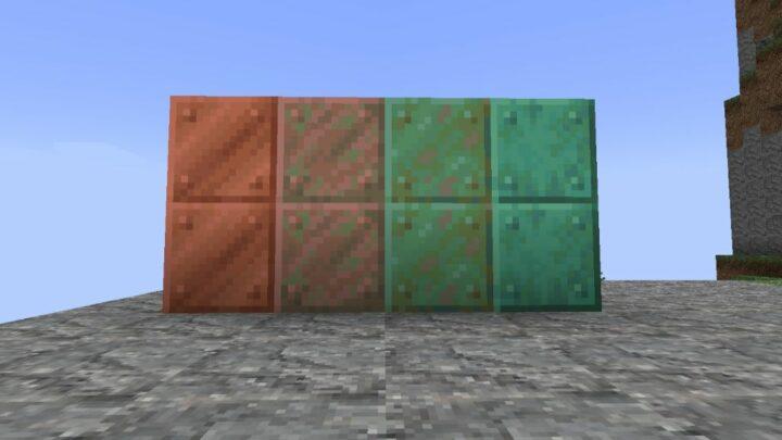 block of copper