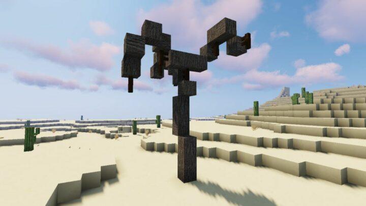 wood block in minecraft