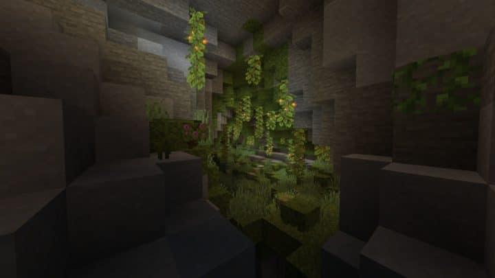 Minecraft 1.18 Lush Caves