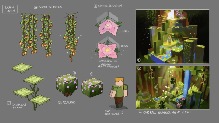 Caves And Cliffs Part 2 Concept Art