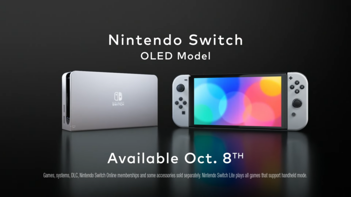 Nintendo Switch 2021 Release Date from the announcement trailer