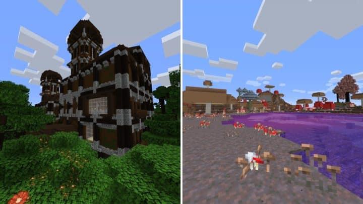 Minecraft Fabric Mods - Biome Makeover