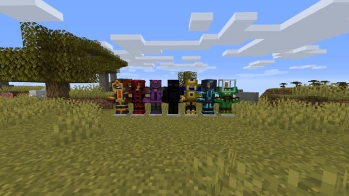 Minecraft Fabric Mods - MC Story Mode Armors