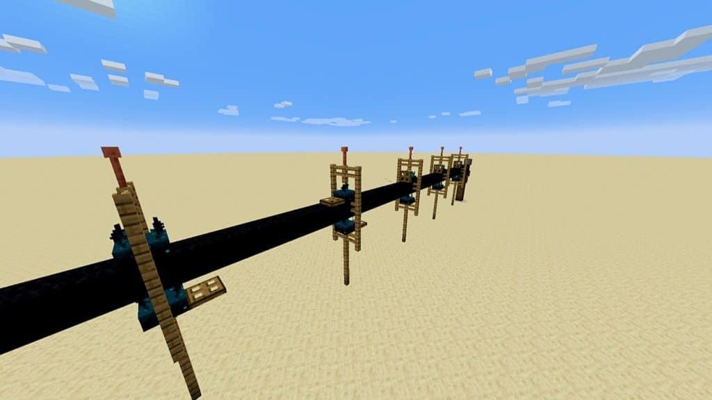 Minecraft Sculk Sensor Idea Two-Way Signaling System