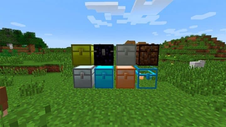Best Minecraft Storage Mods Iron Chests