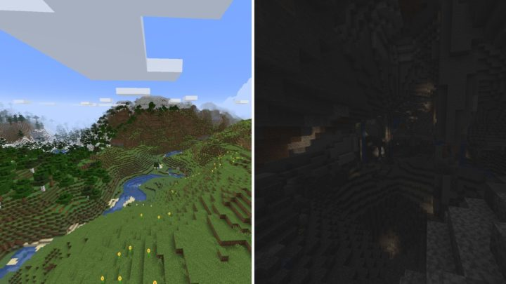 Caves and Cliffs Part 2 - New World Generation