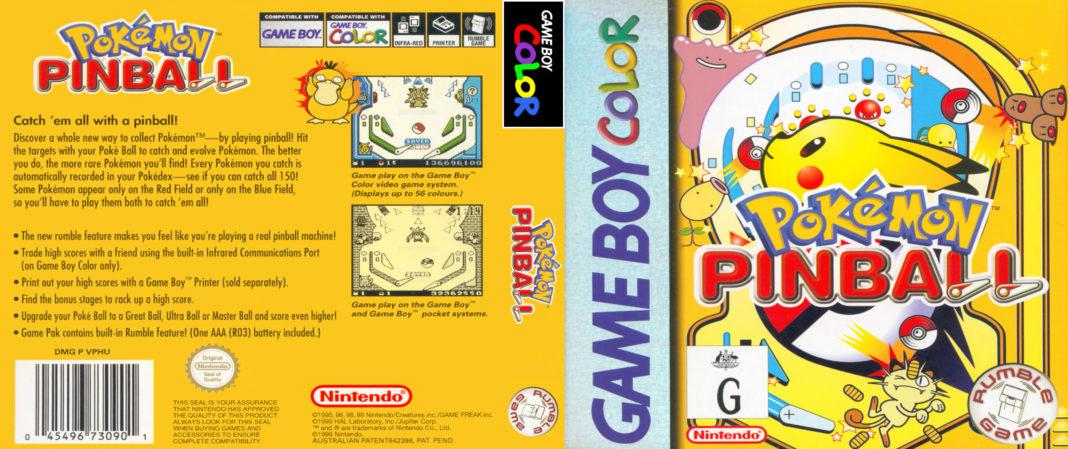 new pokémon pinball game