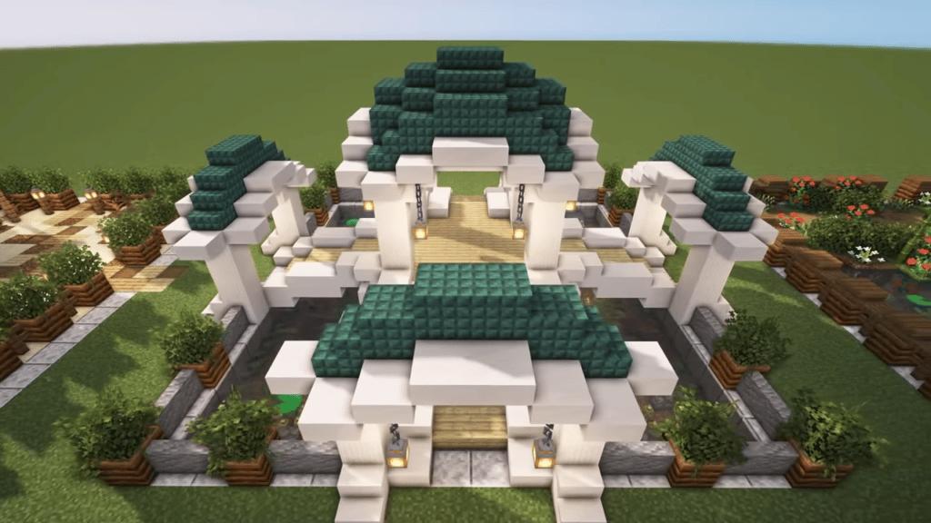 Elven Garden in Minecraft