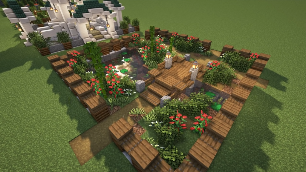 Relaxing Garden for Minecraft