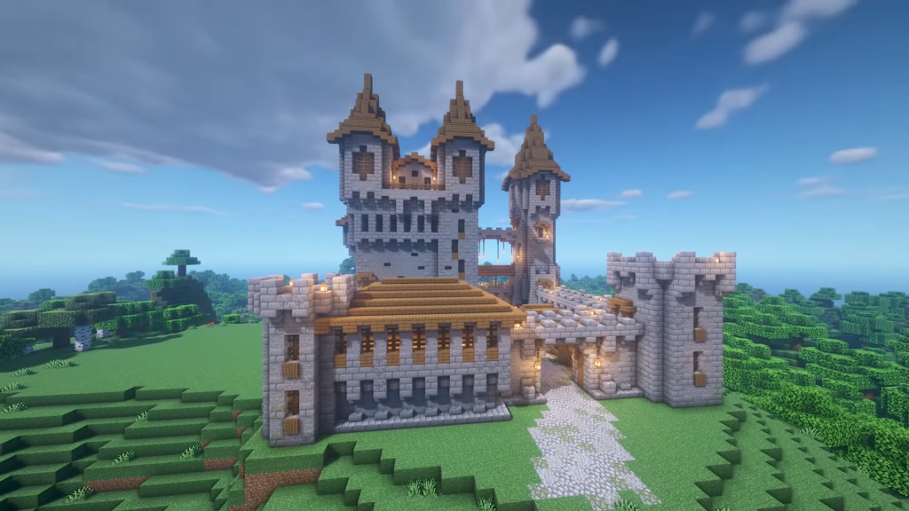 Minecraft Medieval Castle Ideas How to Build