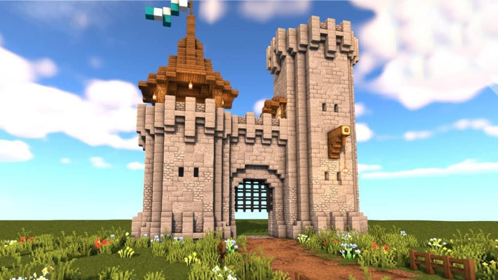Minecraft Castle Gate 1.17 Video Tutorial