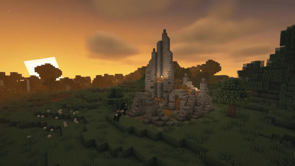 Minecraft Castle Ruins Idea How to Build