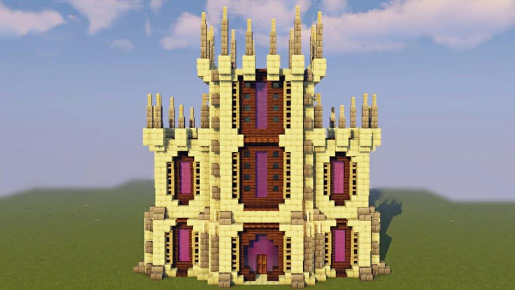 End Castle Minecraft Design Idea