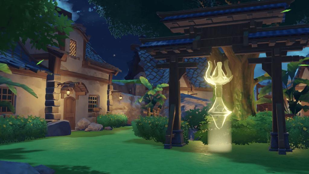 Enchanted Fairy Grove - Genshin Impact