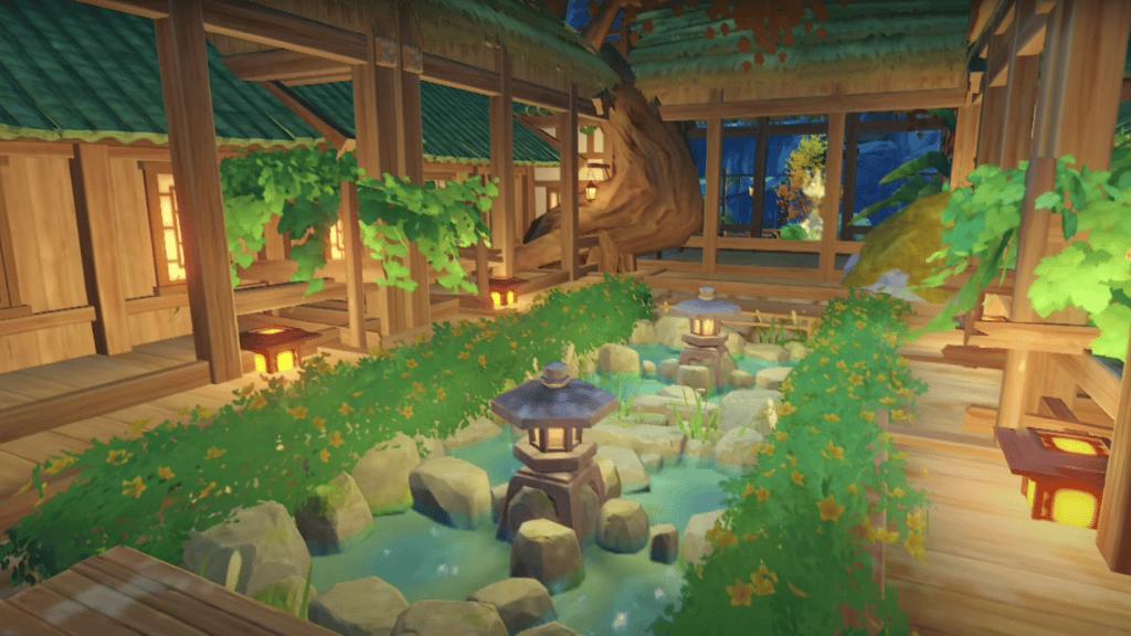 Relaxing Farmhouse - Genshin Impact