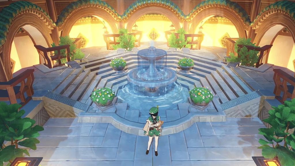 Aesthetic Jade Opera House - Genshin Impact