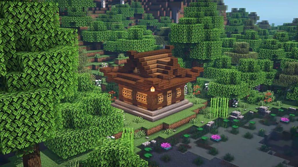 Minecraft Starter House Designs - Japanese House