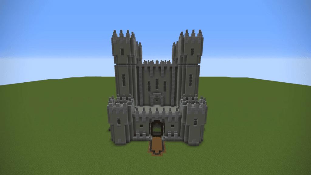 Classic Medieval Castle Minecraft Design Idea