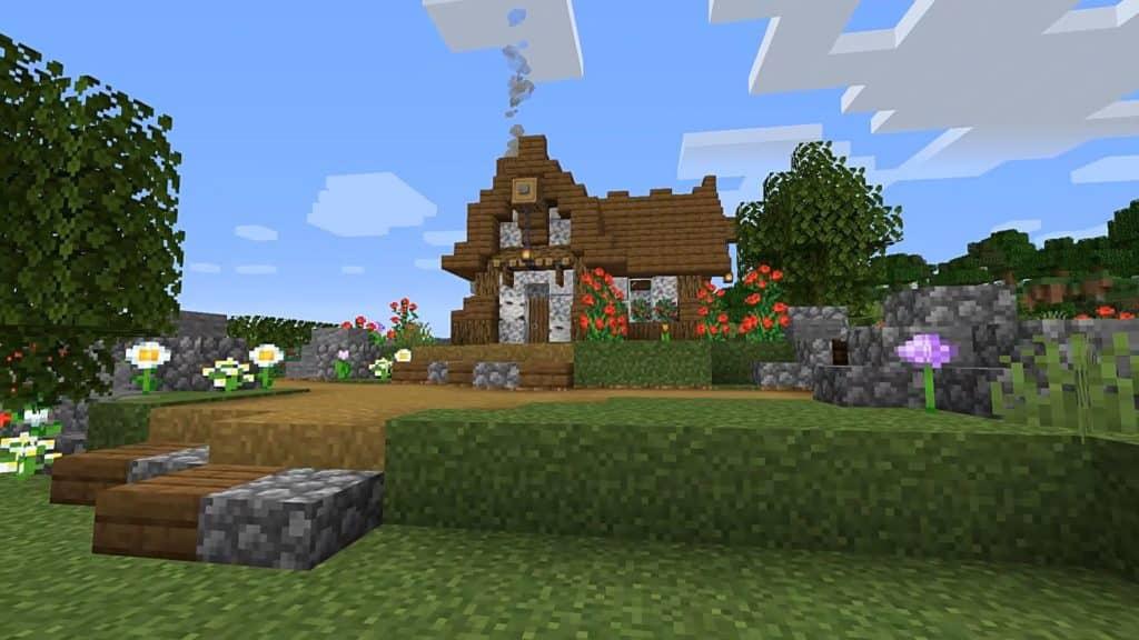 Minecraft Starter House Designs - Medieval House