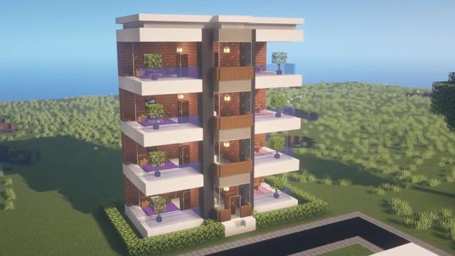 Apartment in Minecraft